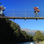 Swing brid on Routeburn Track